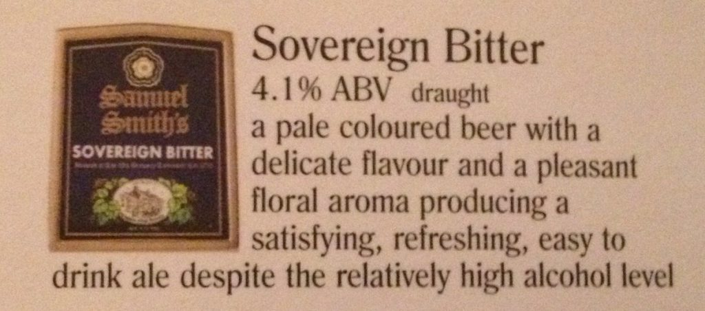 Sovereign Bitter