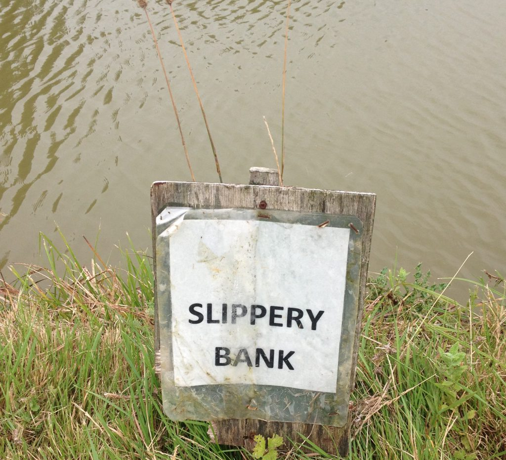 Slippery Bank
